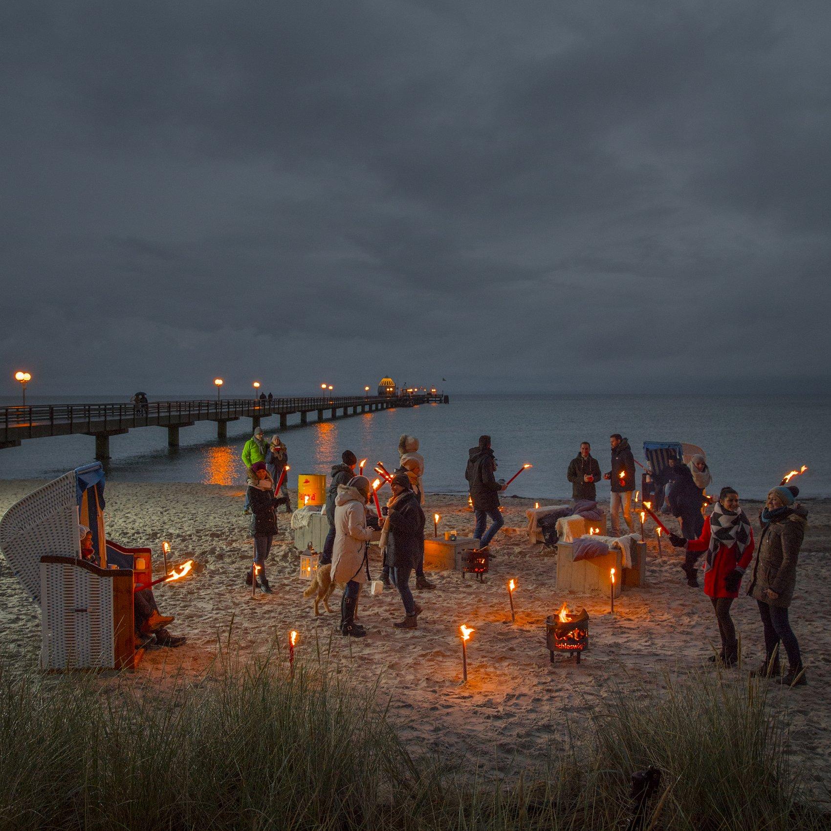 Lichtermeer Ostsee Schleswig Holstein